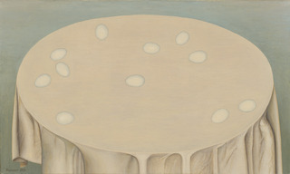Eggs on the Tablecloth, Valery Valran