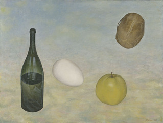 Bottle, Egg, Apple, Skull, Valery Valran