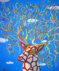 The deer, Esteve Navarrete