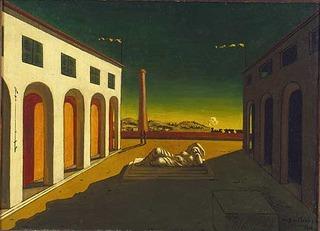 Melancholia, Giorgio de Chirico