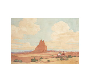 Navajo Land , Norma Bassett Hall