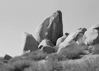 Perris Cone Rock, Michael Heizer