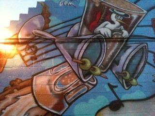 Stork Club Mural, Fred Palia