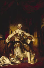 Portrait of King George III, Sir Joshua Reynolds PRA