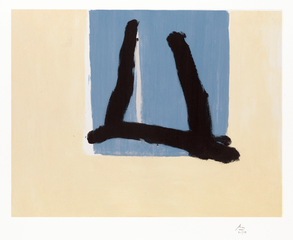 Summer Sign , Robert Motherwell