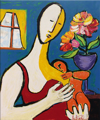 Mother and Child, Anthony Quinn