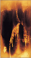 Untitled Fire Painting (F 27 I) ,Yves Klein