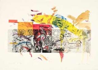 Resurrection Etching, Joan Snyder