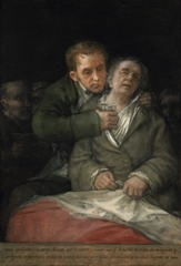 Self-Portrait with Dr. Arrieta, Francisco de Goya