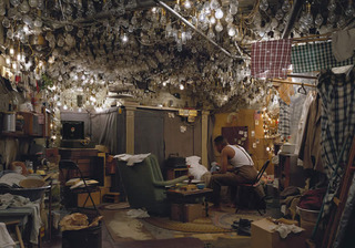 After 'Invisible Man' by Ralph Ellison, the Prologue, Jeff Wall