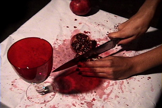  Pom Knife, still from Friendly Fire,Mariam Ghani