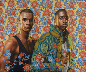 Prince Charles Louis, Elector Palatine, and his Brother, Prince Rupert of the Palatinate                                                                 , Kehinde Wiley