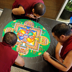 The Monks of Drepung Loseling Phukhang Monastery ,