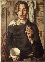 Zelfportret, Dick Ket