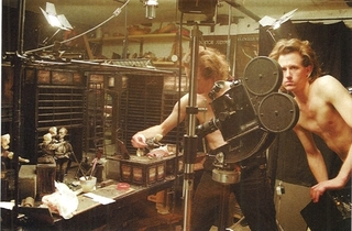 The Quay brothers in the studio,