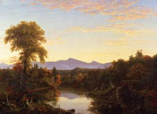Catskill Creek, NY,Thomas Cole