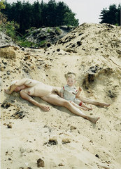 Sand (from the series Portrait of the Artist as a Young Mother),Katharina Bosse