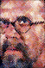 Self Portrait,Chuck Close