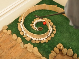 Miniature golf, Robert Smithson