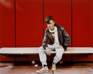 Young Punk, from the series Underground, Stuttgart,Mike Osborne
