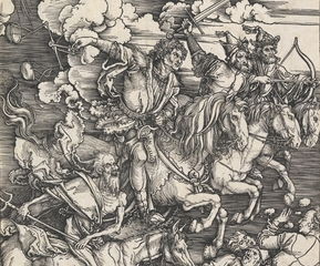 The Four Horsemen of the Apocalypse ,Albrecht Dürer