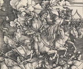 The Four Horsemen of the Apocalypse , Albrecht Dürer