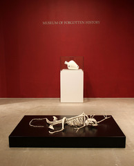 """Homo Stupidus Stupidus"" 2009 and ""Ikea - Vase"", 2011 , Maarten Vanden Eynde"