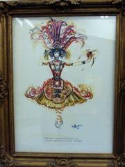 Firebird Costume, Rosemary Taggart