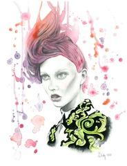 Pink Rhapsody, Beatriz Italy Lozano