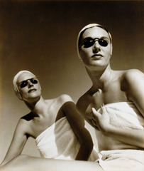 Two Models with Sunshields, Kay Bell Reynal