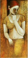 Untitled (Woman) , Asit Kumar Patnaik