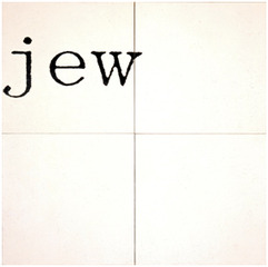 Untitled (Jew), William Anastasi
