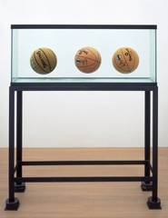 Three Ball Total Equilibrium Tank (Two Dr J Silver Series, Spalding NBA Tip-Off), Jeff Koons