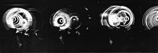 Black, Electromedia Performance at Black Gate Theatre, New York , Aldo Tambellini