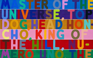 Master of the Universe,Mel Bochner