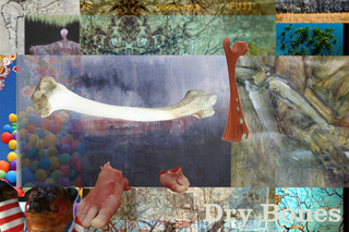 balm Dry Bones postcard, SAM SPICZKA, Rex Hausmann, Jonathan Cowan, Jane Flanders, Shannon White, Matthew Farley, Rob Allen, Jason Dailey, Kristin Morland, Jennifer Rivera