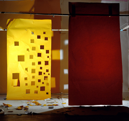"No. 632, ""Yellow with Holes and Yellow Lit from Behind"", David Haxton"