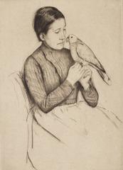 The Parrot, Mary Cassatt