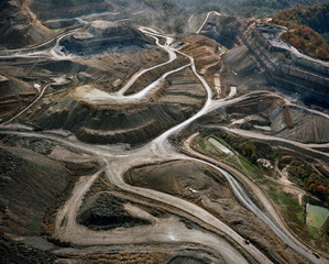 Mountaintop removal coal mining in eastern Kentucky, Terry Evans