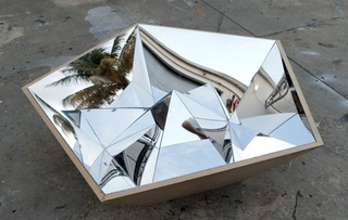 Prototype for Platonic Coffee Table, Emmett Moore