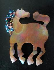 Jewelry, Horse pin, Karla Commins