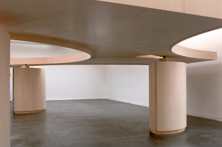 Shade Between Rings of Air - Installation view, Italian Pavilion, 51st Venice Biennial,Gabriel Orozco