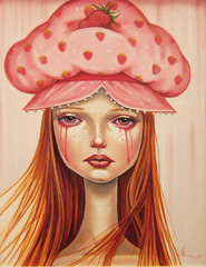 Strawberry Shortcake Fields Forever, Audrey Pongracz