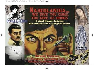 Narcolandia Promo, Emelda Gutierrez, Rochelle Bassarear, Harry Ortiz Liflan