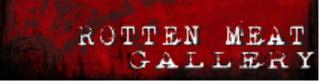 Rotten Meat Gallery Logo, Dan Miller