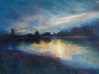 Botanical Garden Sunset 1, Joan Minsky