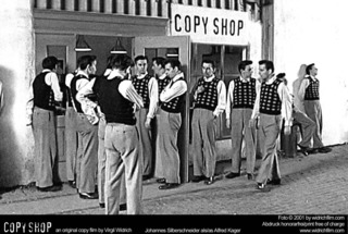 still from Copy Shop, Virgil Widrich