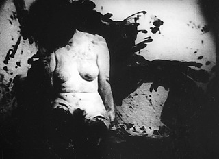 still from 8/64 Ana  Aktion Brus,Kurt Kren