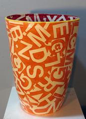 Alphabet Vase, Jason Messinger