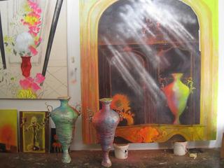 Studio view., Sarah Thibault